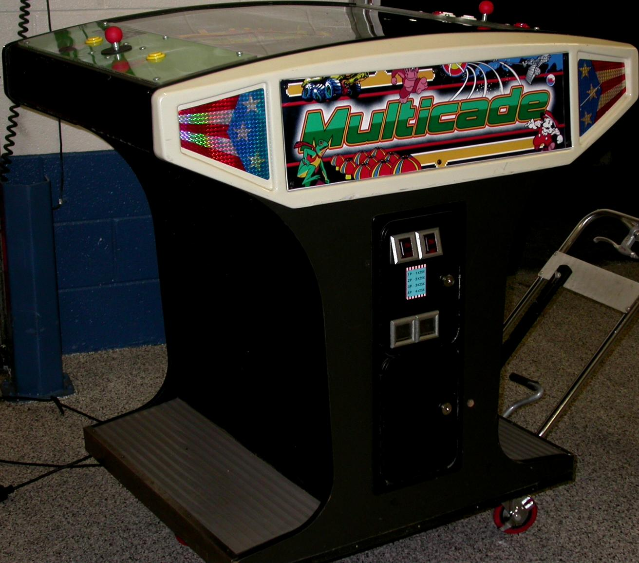 Cocktail Arcade Cabinet Ms Pacman Galaga Frogger Combo Video Arcade Game Upright Machine