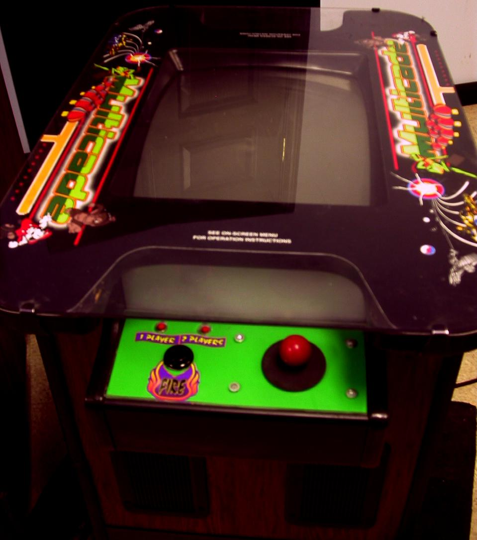 1942 Arcade Cabinet Ms Pacman Galaga Frogger Combo Video Arcade Game Upright Machine