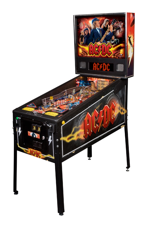 AC/DC Pinball Machine for Sale