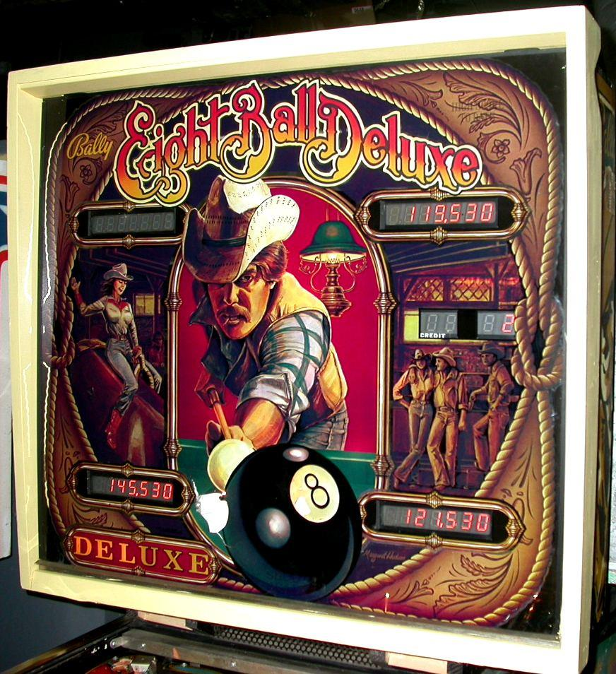bally eight deluxe pinball machine for sale