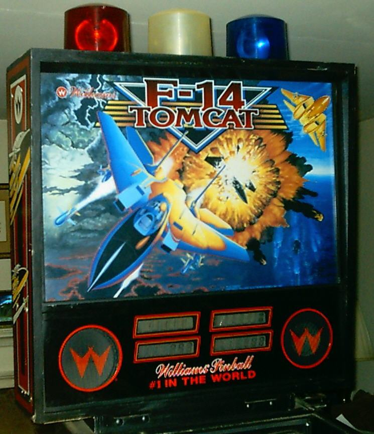 f14 tomcat pinball machine
