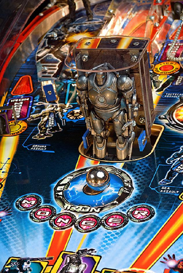 iron pinball machine for sale